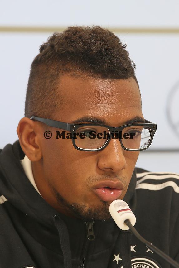 Jerome Boateng - Pressekonferenz der Deutschen Nationalmannschaft   im Rahmen der WM-Vorbereitung in St. Martin