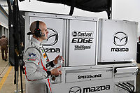 2017 WeatherTech SportsCar Championship - IMSA February Test<br /> Sebring International Raceway, Sebring, FL USA<br /> Thursday 23 February 2017<br /> 70, Mazda DPi, P,  Marino Franchitti<br /> World Copyright: Richard Dole/LAT Images<br /> <br /> ref: Digital Image RD_2_17_37