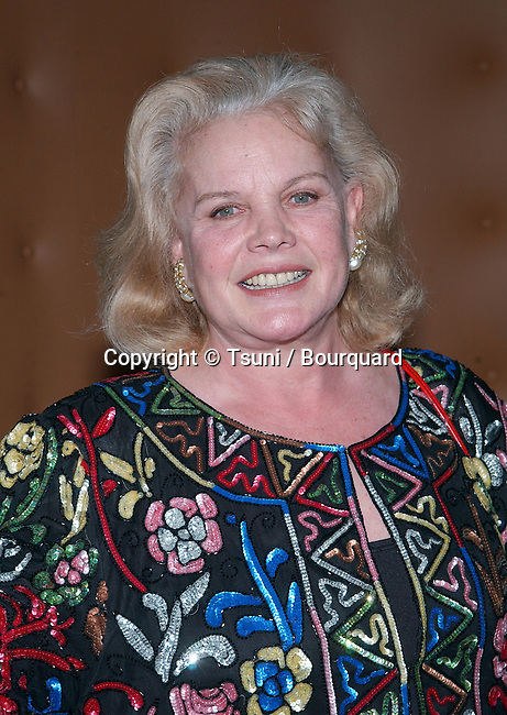Carol Baker arriving at the engagement party for Liza Minelli and David Gest at the SkyBar, Mondrian Hotel in Los Angeles. February 21, 2002.