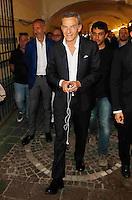 Manifestazione elettorale di Forza Italia a sostegno del candidato sindaco del centrodestra nelle prossime elezioni amministrative<br /> Giaan