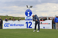 Thorbjorn Olesen (DEN) on the 12th tee during Round 2 of the Open de Espana 2018 at Centro Nacional de Golf on Friday 13th April 2018.<br /> Picture:  Thos Caffrey / www.golffile.ie<br /> <br /> All photo usage must carry mandatory copyright credit (&copy; Golffile | Thos Caffrey)