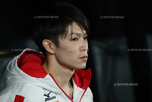 Kohei Uchimura (JPN), <br /> OCTOBER 2, 2017 - Artistic Gymnastics : <br /> 2017 World Artistic Gymnastics Championships <br /> Men's Qualification <br /> Vault <br /> at Olympic Stadium, Montreal, Canada. <br /> (Photo by YUTAKA/AFLO)
