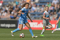 Bridgeview, IL - Saturday May 27, 2017: Sofia Huerta during a regular season National Women's Soccer League (NWSL) match between the Chicago Red Stars and the North Carolina Courage at Toyota Park. The Red Stars won 3-2.