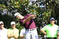 Ross Fisher (ENG) tees off the 16th tee during Friday's Round 2 of the 2017 PGA Championship held at Quail Hollow Golf Club, Charlotte, North Carolina, USA. 11th August 2017.<br /> Picture: Eoin Clarke | Golffile<br /> <br /> <br /> All photos usage must carry mandatory copyright credit (&copy; Golffile | Eoin Clarke)