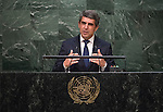 His Excellency Rosen Plevneliev, President of the Republic of Bulgaria <br /> <br /> General Assembly Seventieth session 9th plenary meeting: High-level plenary meeting of the (6th meeting)