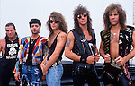 Various portraits & live photographs of the rock band, Bon Jovi
