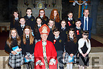 The pupils of Brosna NS with Bishop Ray Browne and Principal John Cahill at their Confirmation in Brosna on Thursday front row l-r: Ava Reidy, Danika Curtin, Michael Nolan, Emma Connelly, Denise Brosnan. Middle row: Amie Woods-Keane, Aisling Brosnan, Aoife Connelly, Síocha McAulliffe-Bourke, Dean Moloney. Back row: Nadine Forrest, Shauna Lane, Leah Bartlett, Jessica Buckley and Cormac Murphy