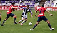 Real Valladolid´s Omar during match of La Liga 2012/13. 31/03/2013. Victor Blanco/Alterphotos /NortePhoto