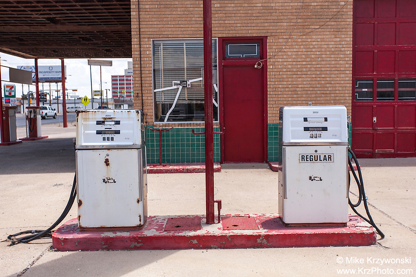 Kimbrough's Super Service gas station in Odessa, TX