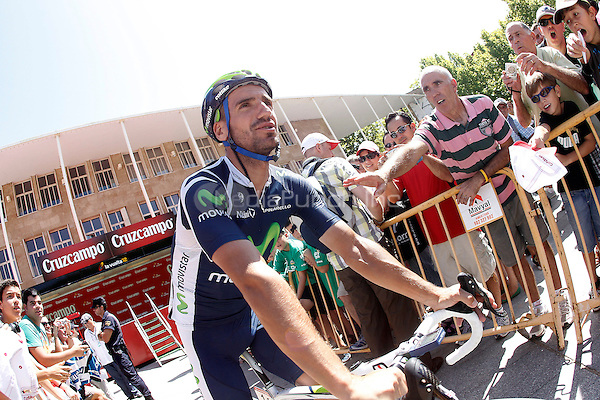 Juan Jose Cobo during the stage of La Vuelta 2012 .August 22,2012. Credit: Alterphotos/Acero//NortePhoto/MediaPunch Inc. ***FOR USA ONLY***..