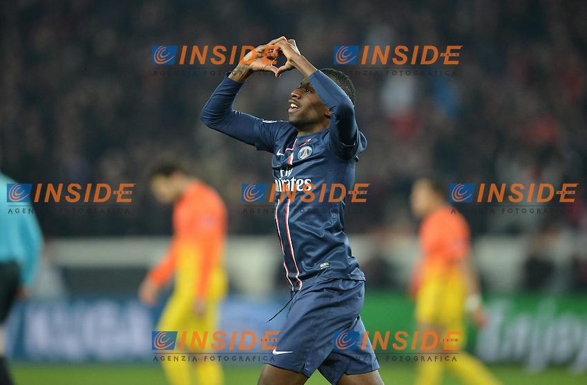 Blaise Matuidi (psg) .Parigi 2/4/2013 .Calcio Champions League Quarti di Finale Andata.Paris Saint Germain Barcellona.Foto Panoramic / Insidefoto