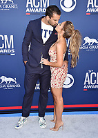 LAS VEGAS, CA - APRIL 07: Eric Decker (L) and Jessie James Decker attend the 54th Academy Of Country Music Awards at MGM Grand Hotel &amp; Casino on April 07, 2019 in Las Vegas, Nevada.<br /> CAP/ROT/TM<br /> &copy;TM/ROT/Capital Pictures