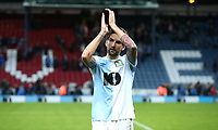 Blackburn Rovers' Charlie Mulgrew at the end of todays match<br /> <br /> Photographer Rachel Holborn/CameraSport<br /> <br /> The EFL Sky Bet Championship - Blackburn Rovers v Aston Villa - Saturday 15th September 2018 - Ewood Park - Blackburn<br /> <br /> World Copyright &copy; 2018 CameraSport. All rights reserved. 43 Linden Ave. Countesthorpe. Leicester. England. LE8 5PG - Tel: +44 (0) 116 277 4147 - admin@camerasport.com - www.camerasport.com