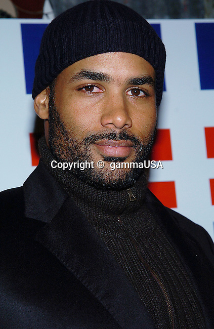 Boris Kodjoe (Soul Food) arriving at the Axis Of Justice at the House Of Blues in West Hollywood / Los Angeles. January 5, 2005.
