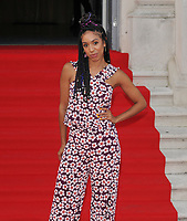 "LONDON, ENGLAND - AUGUST 08: Pearl Mackie at the ""Pain and Glory"" Film4 Summer Screen opening gala & launch party, Somerset House, The Strand, on Thursday 08 August 2019 in London, England, UK.<br /> CAP/CAN<br /> ©CAN/Capital Pictures"