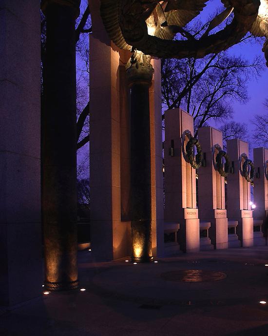 National World War II Memorial<br /> Washington, DC