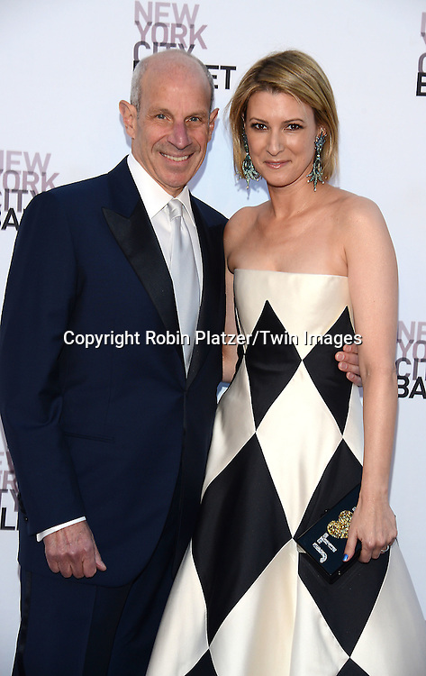 Jonathan and Lizzie Tisch attends the New York City Ballet's 3rd Annual  Fall Fashion Gala on September 23, 2014 at David Koch Theatre in Lincoln Center in New York City. <br /> <br /> photo by Robin Platzer/Twin Images<br />  <br /> phone number 212-935-0770