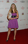 HOLLYWOOD, CA. - October 03: Leslie Durso arrives at the Best Friends Animal Society's 2009 Lint Roller Party at the Hollywood Palladium on October 3, 2009 in Hollywood, California.