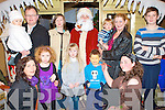 ARTS AND CRAFTS: Enjoying a great time with Santa Clause at the Fels Point Arts and Crafts Fair on Sunday pictured J.P., Muireann, Dolores and Niamh Vivier, Abbeydorney, Marian, Blake and Justin Thomas, Monavalley and Manor West, Martina and Alannah O'Connor, Sunday's Well, Stephen Mannix, Currow, Rebecca Cains, Tralee and Santa Clause, North Pole.