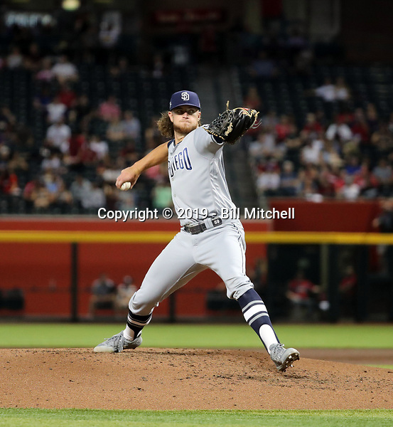 Chris Paddack - 2019 San Diego Padres (Bill Mitchell)