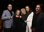 Jon Robin Baitz, Daryl Roth, Judith Light, Jordan Roth and Tony Kushner attends the 2019 DGF Madge Evans And Sidney Kingsley Awards at The Lambs Club on March 18, 2019 in New York City.