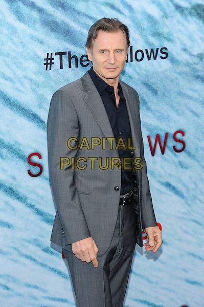 21 June 2016 - New York, New York - Liam Neeson.  &quot;The Shallows&quot; New York Premiere. <br /> CAP/ADM/MSA<br /> &copy;MSA/ADM/Capital Pictures