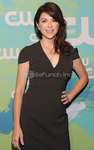 NEW YORK, NY - MAY 19:  Amy Pietz attends the 2016 CW Upfront presentation at the London Hotel on May 19, 2016 in New York City. Photo Credit: John Palmer/ Media Punch