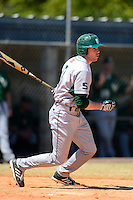 Slippery Rock third baseman Jake Nogalo (7) during a game against the Wayne State Warriors on March 15, 2013 at Chain of Lakes Park in Winter Haven, Florida.  (Mike Janes/Four Seam Images)