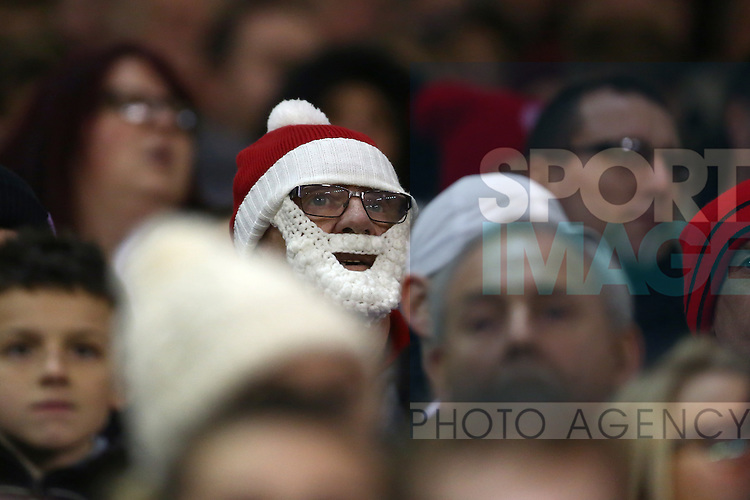 United fans - Sheffield United vs Bradford City - Skybet League One - Bramall Lane - Sheffield - 28/12/2015 Pic Philip Oldham/SportImage