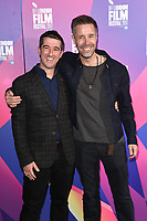 "Paul Popplewell and Paddy Considine<br /> arriving for the London Film Festival 2017 screening of ""Journeyman"" at Picturehouse Central, London<br /> <br /> <br /> ©Ash Knotek  D3333  12/10/2017"