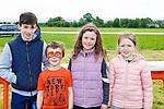 Mark O'Connor  Ballymac, Adam Katelyn and Leah Griffin Cordal at the Castleisland Races on Sunday
