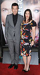 Jason Bateman and wife Amanda Anka at the World Premiere of Identity Thief, held at the Mann Village Theater in Westwood CA. February 4, 2013.