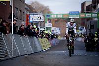 race winner > CX World Champion Mathieu van der Poel (NED/Corendon-Circus)<br /> <br /> 82nd Druivencross Overijse 2019 (BEL)<br />  <br /> ©kramon
