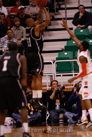 Trent Nelson  |  The Salt Lake Tribune.Salt Lake City - Butler vs. Syracuse, NCAA West Regional college basketball practice Thursday, March 25, 2010. scott sommerdorf