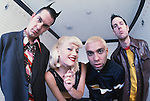 Various portrait sessions of the rock band, No Doubt