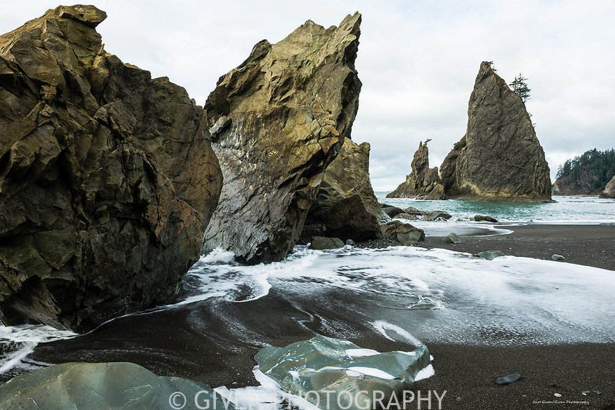 Beach, Olympic National Park, Washington