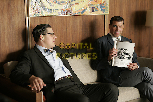 RICH SOMMER, BRYAN BATT<br /> in Mad Men (Season 1)<br /> *Filmstill - Editorial Use Only*<br /> CAP/FB<br /> Image supplied by Capital Pictures