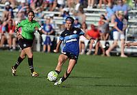 Kansas City, MO - Sunday August 28, 2016: Erika Tymrak during a regular season National Women's Soccer League (NWSL) match between FC Kansas City and the Boston Breakers at Swope Soccer Village.