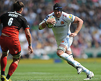 Mitch Lees of Exeter Chiefs in a action during the Aviva Premiership Rugby Final between Saracens and Exeter Chiefs at Twickenham Stadium on Saturday 28th May 2016 (Photo: Rob Munro/Stewart Communications)