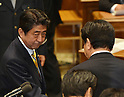Japan's Prime Minister Yoshihiko Noda Debates with Shinzo Abe of the Opposition Liberal Democratic P