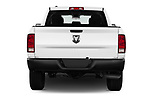 Straight rear view of 2017 Ram Ram 1500 Tradesman Crew 4 Door Pick Up stock images