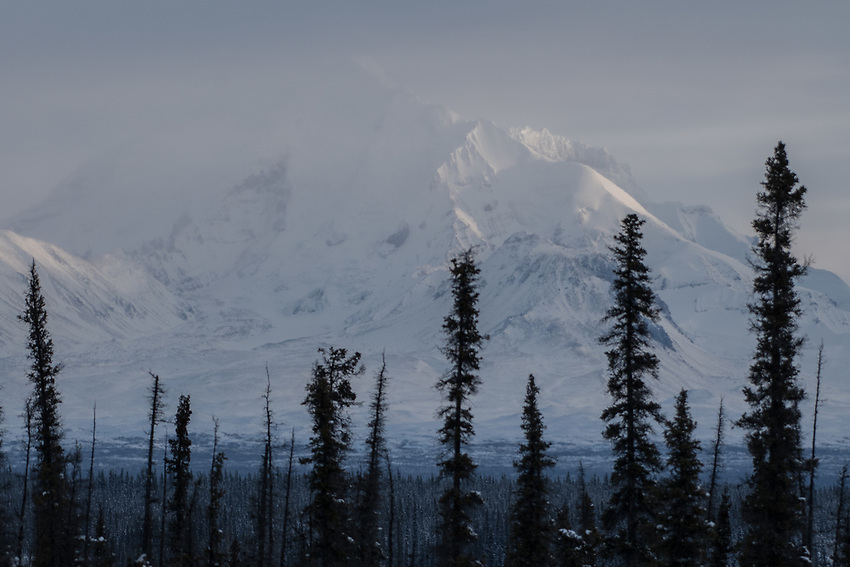 Mount Drum, Wrangell St. Elias NP, Alaska. Photo by James R. Evans