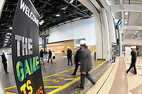 The FIFA World Cup Inspection Delegation tour the Jacob Javits Center in New York, NY, on September 07, 2010.