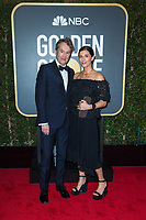 Nominated for BEST ORIGINAL SCORE &ndash; MOTION PICTURE for &quot;Three Billboards Outside Ebbing, Missouri,&quot; Carter Burwell attends the 75th Annual Golden Globes Awards at the Beverly Hotel in Beverly Hills, CA on Sunday, January 7, 2018.<br /> *Editorial Use Only*<br /> CAP/PLF/HFPA<br /> &copy;HFPA/Capital Pictures