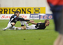 13/09/2008  Copyright Pic: James Stewart.File Name : sct_jspa12_falkirk_v_hearts.SCOTT ARFIELD CELEBRATES WITH DARREN BARR AFTER HE SCORES FALKIRK'S SECOND.James Stewart Photo Agency 19 Carronlea Drive, Falkirk. FK2 8DN      Vat Reg No. 607 6932 25.James Stewart Photo Agency 19 Carronlea Drive, Falkirk. FK2 8DN      Vat Reg No. 607 6932 25.Studio      : +44 (0)1324 611191 .Mobile      : +44 (0)7721 416997.E-mail  :  jim@jspa.co.uk.If you require further information then contact Jim Stewart on any of the numbers above........