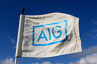 AIG flag on the 16th during Matchplay Final of the AIG Irish Amateur Close Championship 2019 in Ballybunion Golf Club, Ballybunion, Co. Kerry on Wednesday 7th August 2019.<br /> <br /> Picture:  Thos Caffrey / www.golffile.ie<br /> <br /> All photos usage must carry mandatory copyright credit (© Golffile | Thos Caffrey)