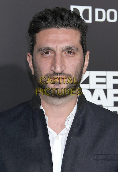 "Fares Fares.""Zero Dark Thirty"" Los Angeles Premiere held at Dolby Theater, Hollywood, California, USA..December 10th, 2012.headshot portrait black white shirt stubble beard facial hair .CAP/ADM/RE.©Russ Elliot/AdMedia/Capital Pictures."