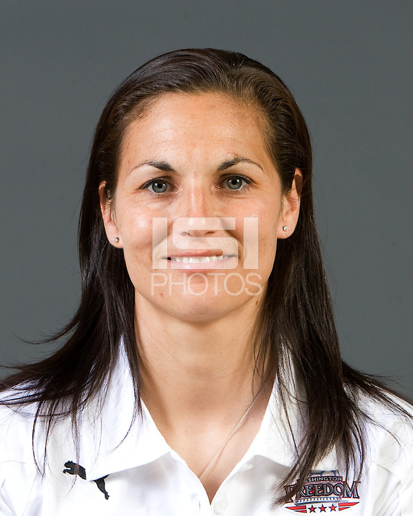 Goalkeeper Coach Nicci Wright. Washington Freedom Headshots 2010.