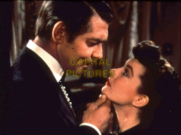 CLARK GABLE.VIVIEN LEIGH.in Gone With The Wind.Filmstill - Editorial Use Only.Ref: FB.sales@capitalpictures.com.www.capitalpictures.com.Supplied by Capital Pictures.