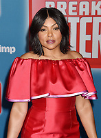 HOLLYWOOD, CA - NOVEMBER 05: Taraji P. Henson  attends the Premiere Of Disney's 'Ralph Breaks The Internet' at the El Capitan Theatre on November 5, 2018 in Los Angeles, California.<br /> CAP/ROT/TM<br /> &copy;TM/ROT/Capital Pictures